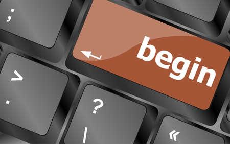 empezar: comenzar� palabra en tecla del teclado, bot�n del ordenador port�til