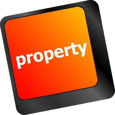 patent key: property message on keyboard enter key