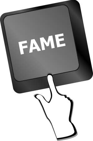 fame: Computer Keyboard with Fame Key