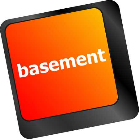 basement: basement message on enter key of keyboard