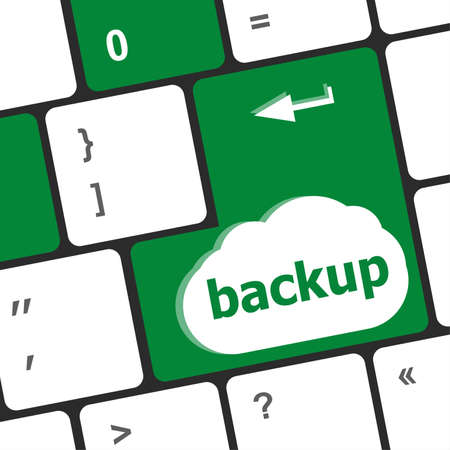 archiving: Backup computer key in for archiving and storage