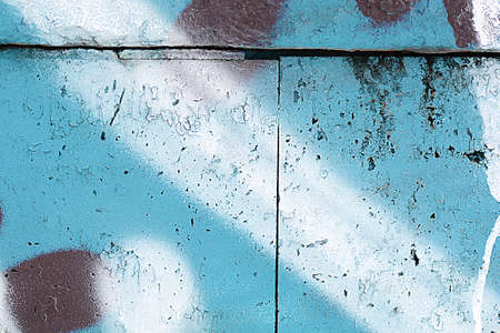 aging: classic grunge texture of aging painted wall
