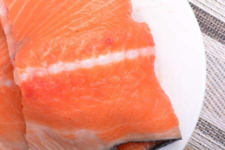 salmon filet: salmon filet with fresh herbs