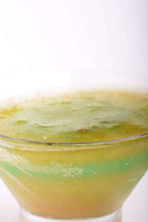 very cold: Glass of very cold drink