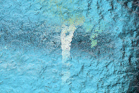 wall paint: old wall paint Stock Photo