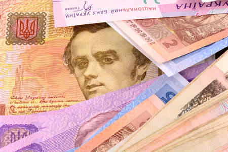 european money: european money, ukrainian money Stock Photo