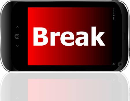 psp: smart phone with break wordvector