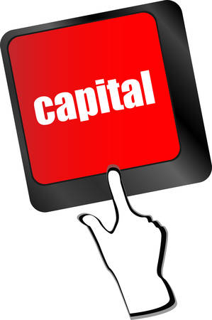 buy shares: capital button on keyboard key