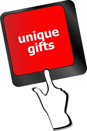 keyboard keys: unique gifts, events button on the keyboard keys