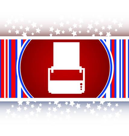 icon buttons: icono de la impresora brillantes botones para web