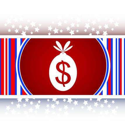 money sack: icon button money sack isolated on white