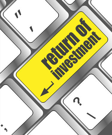 investing: invest or investing concepts, with a message on enter key or keyboard