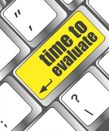 cronologia: tiempo para evaluar palabra en el teclado de ordenador - concepto de red social