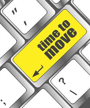 cronologia: palabras llegado la hora de clave en el teclado