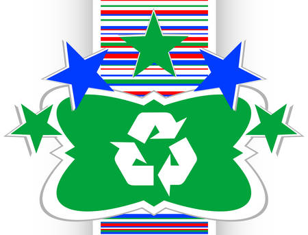 icon series: Icon Series - Recycle Sign