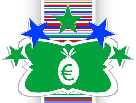 sack: icon button money sack isolated on white