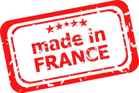 france stamp: Made in France stamp