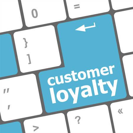 dedicate: button keypad with customer loyalty word
