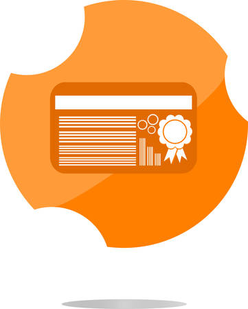 remittance: vector thin line icon with flat design element of credit card payment finance system, financial banking, payroll facilities, electronic money transfer. Modern style vector illustration concept Illustration