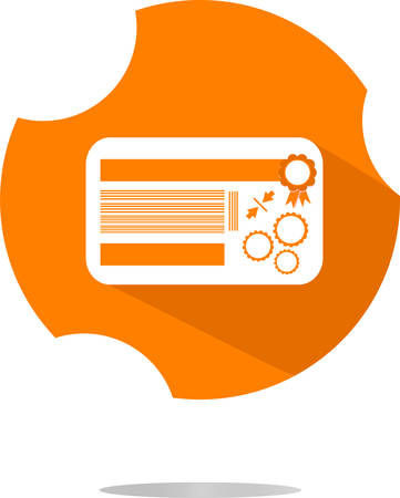 remittance: vector thin line icon with flat design element of credit card payment finance system, financial banking, payroll facilities, electronic money transfer.  Illustration