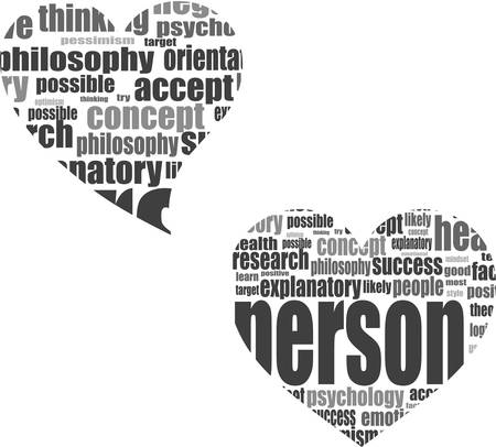 thumbup: vector Social media love concept in word tag cloud of think bubble Illustration
