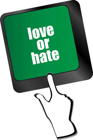 ratings: love or hate relationships communication impressions ratings reviews computer keyboard key,