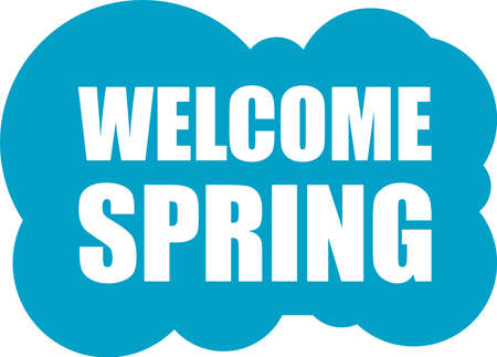 fling: Welcome Spring Holiday Card. Welcome Spring Vector. Welcome Spring background. Spring Holiday Graphic. Welcome Spring Art. Spring Holiday Drawing