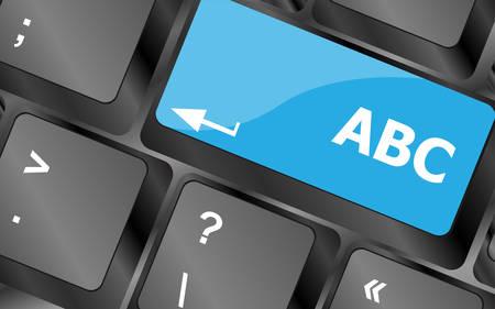 letras negras: computer keyboard with abc button - social concept. Keyboard keys icon button vector. Keyboard Icon, Keyboard Icon Vector, Keyboard Icon Art, Keyboard Icon App Vectores