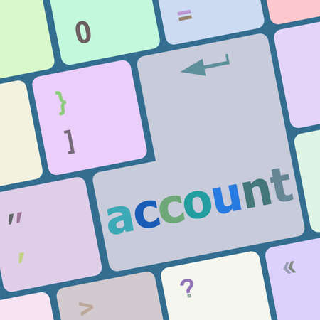 tecla enter: cuenta blanca tecla enter
