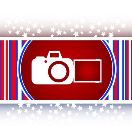 camera web icon Stock Photo
