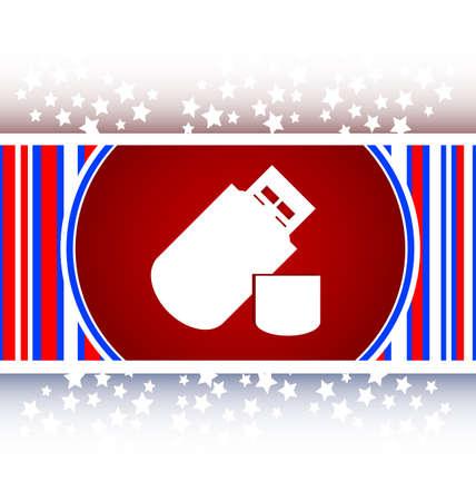 usb memory: usb flash drive web glossy icon