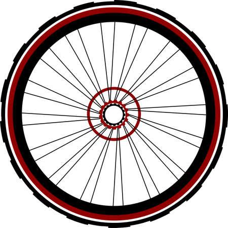 roue arrière de bicyclette de vitesse unique