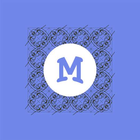 royal wedding: Monogram design elements, graceful template. Elegant line art logo design. Business sign, identity for Restaurant, Royalty, Boutique