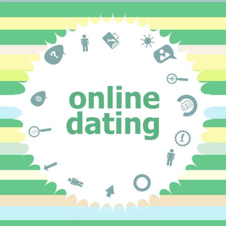 Online dating icons