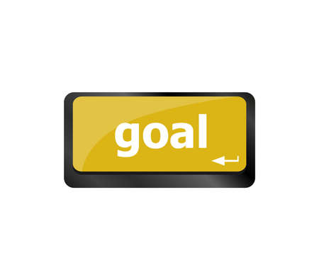 Goal button on computer keyboard button