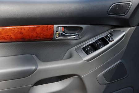 car door from inside the car