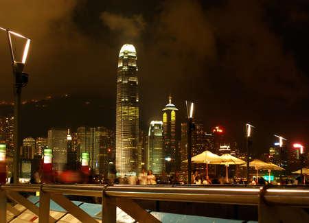 Hong Kong walking district