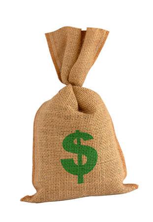 BONUS sack. Stock Photo