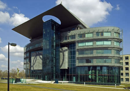 Olympic Centre of the Polish Olympic Committee Warsaw. Inside also Museum of Sport.