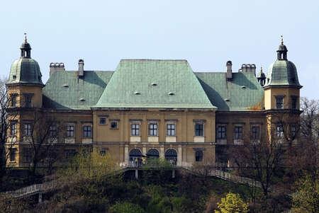 Ujazdowski Palace in Warsaw