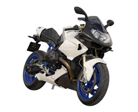 German motorbike Stock Photo