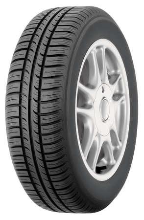 alloy: Car tire on allluminium wheel.