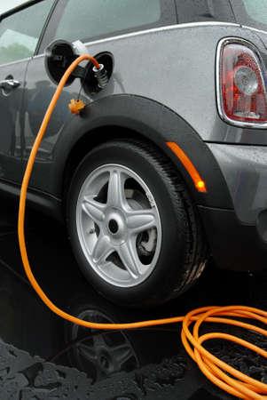 Carga de la bater�a de coche el�ctrico