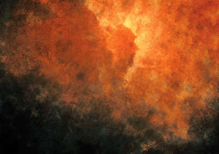 Painted abstract background in warm colors.