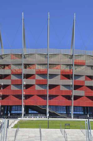 National Stadium in Warsaw  Day view  Stock Photo - 13847569