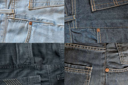 four of a kind: Four kind of jeans