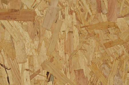 chipboard: Oriented strand board panel as background texture