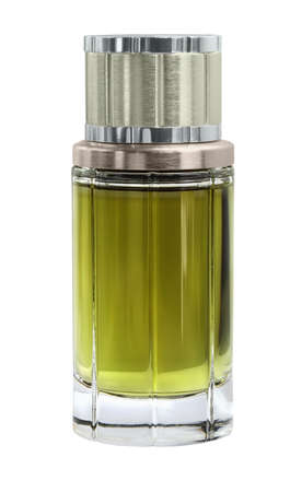 parfume: French parfume for men isolated with path on white background