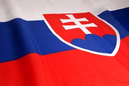Flag of Slovakia photo