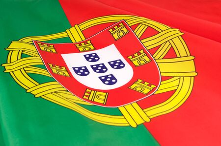 Flag of Portugal  photo